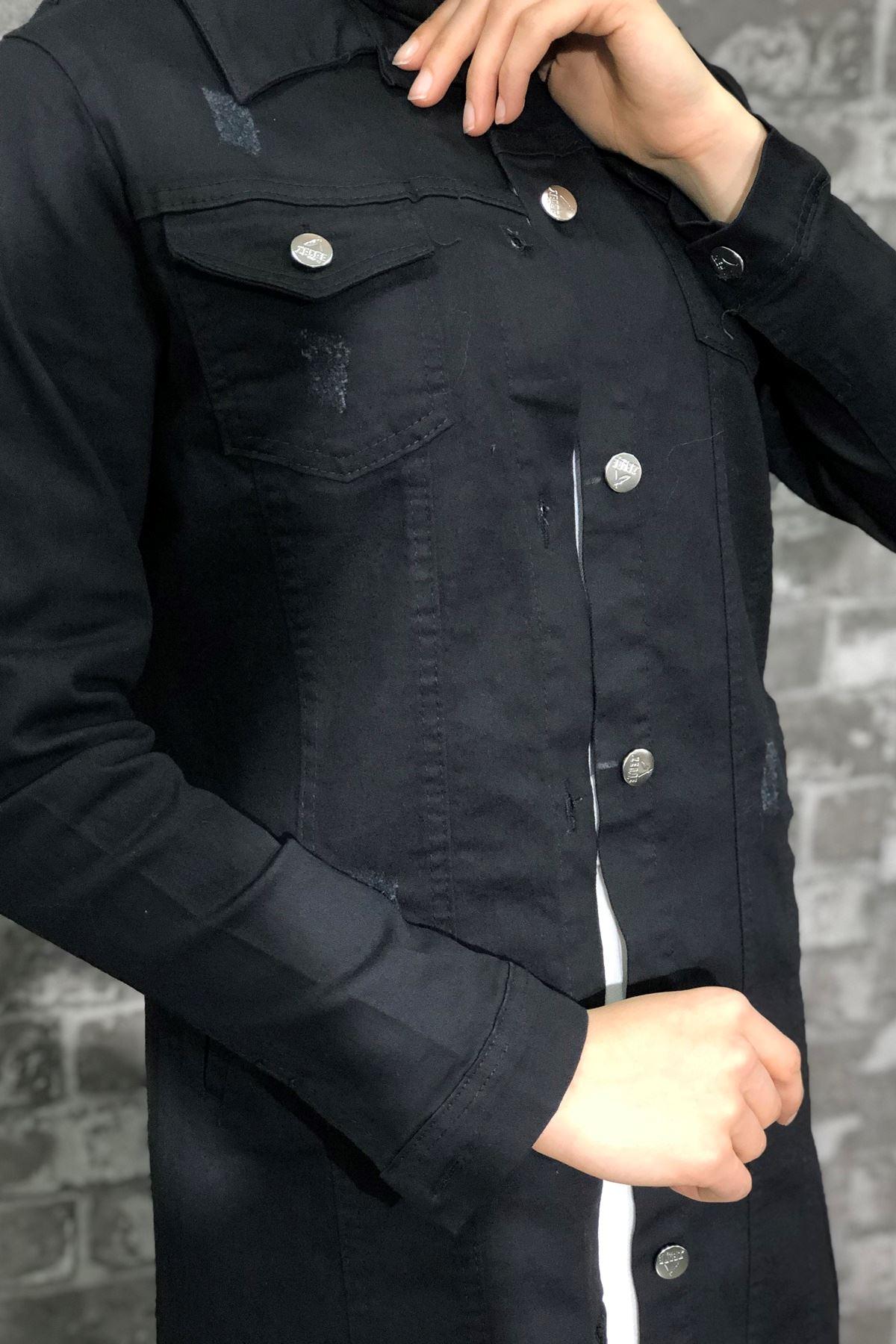 Kot Ceket - SİYAH