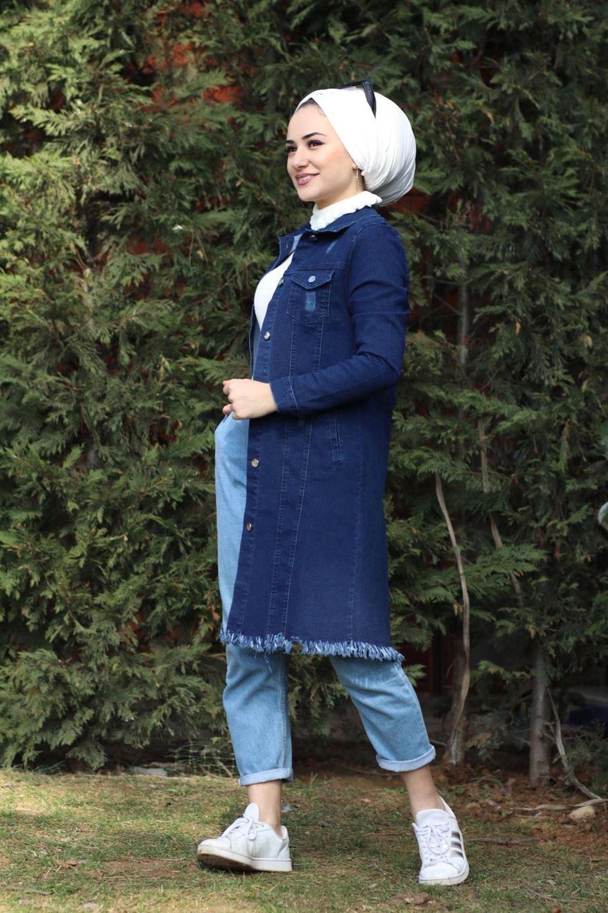 Kot Ceket - LACİVERT