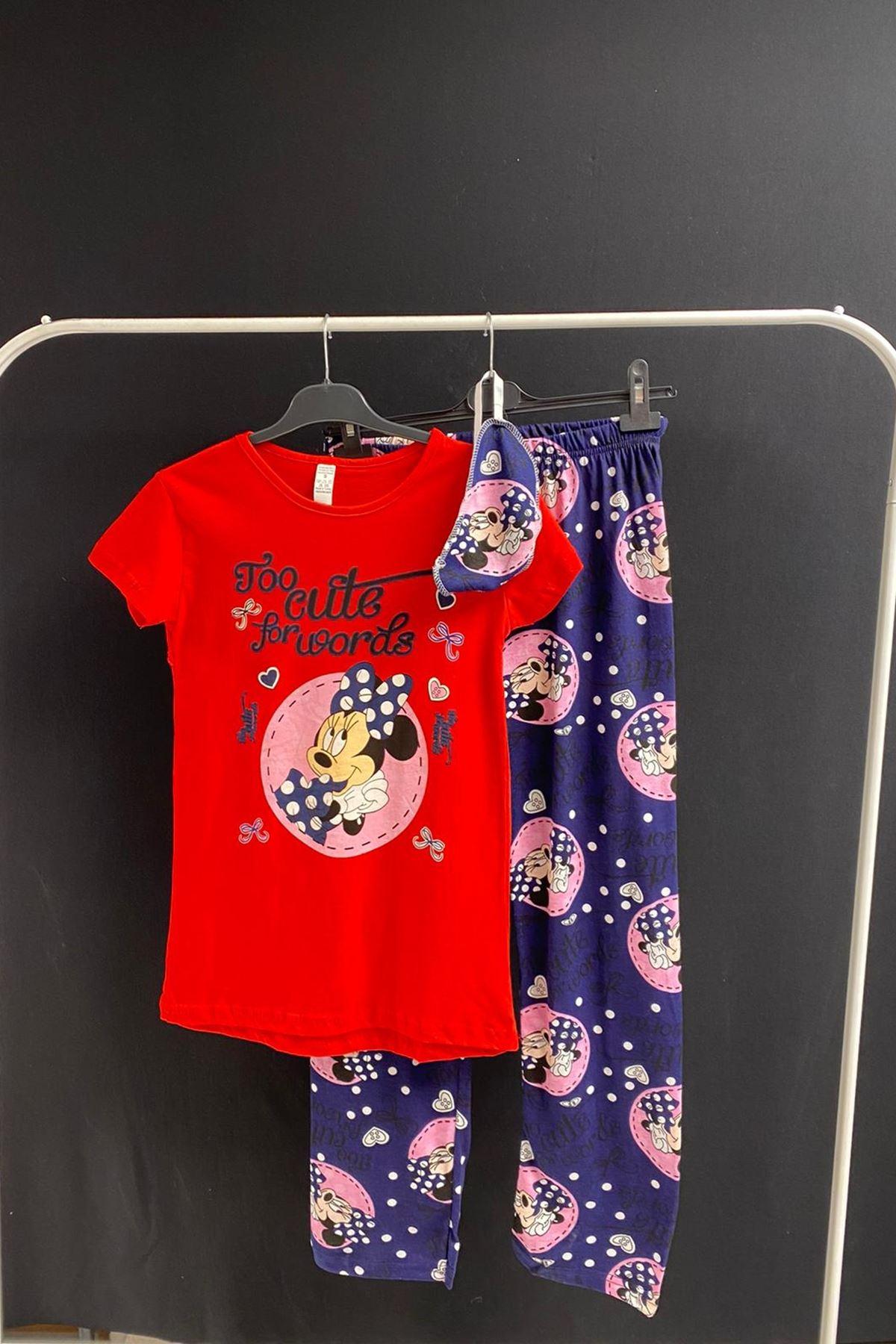 Kırlangıç Pijama Takımı - Kırmızı