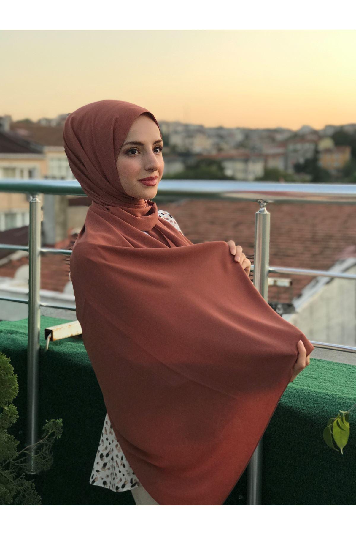 Poly Medine Şal - Taba