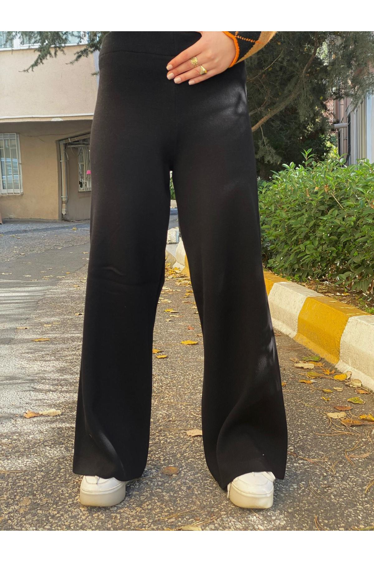 Triko Pantolon - Siyah