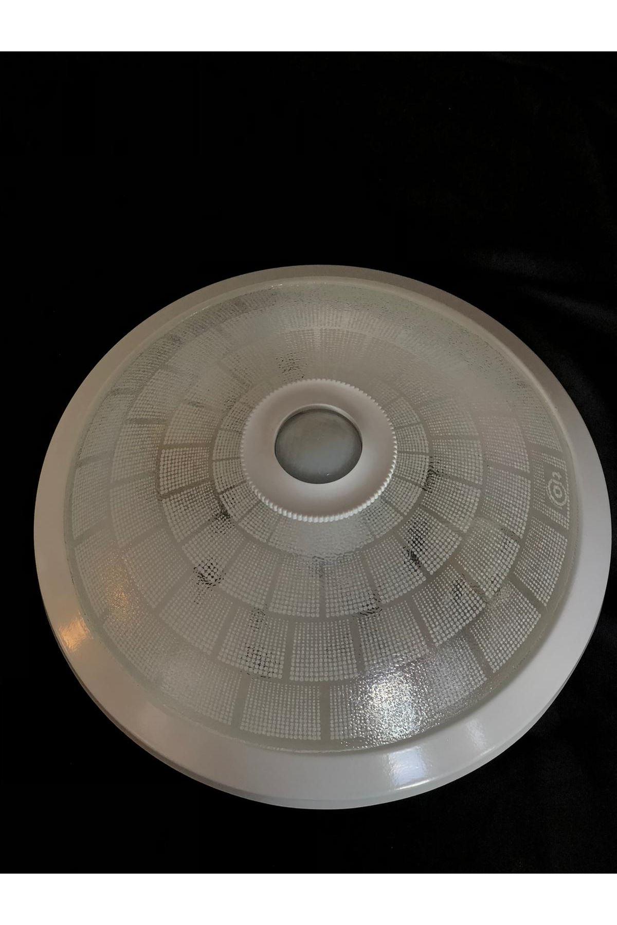 Sensörlü Armatür 2 Duylu Parça Desen- Beyaz
