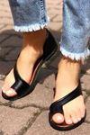Moda Yazlık Ayakkabı - SİYAH